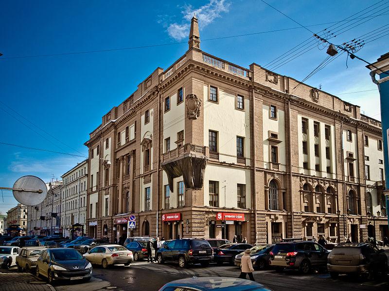 Ленинградский Дом Радио. Автор фото: Florstein (Wikimedia Commons)