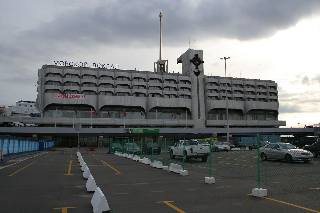 Пассажирский морской вокзал в Санкт-Петербурге. Автор фото: A.Savin (Wikimedia Commons · WikiPhotoSpace)