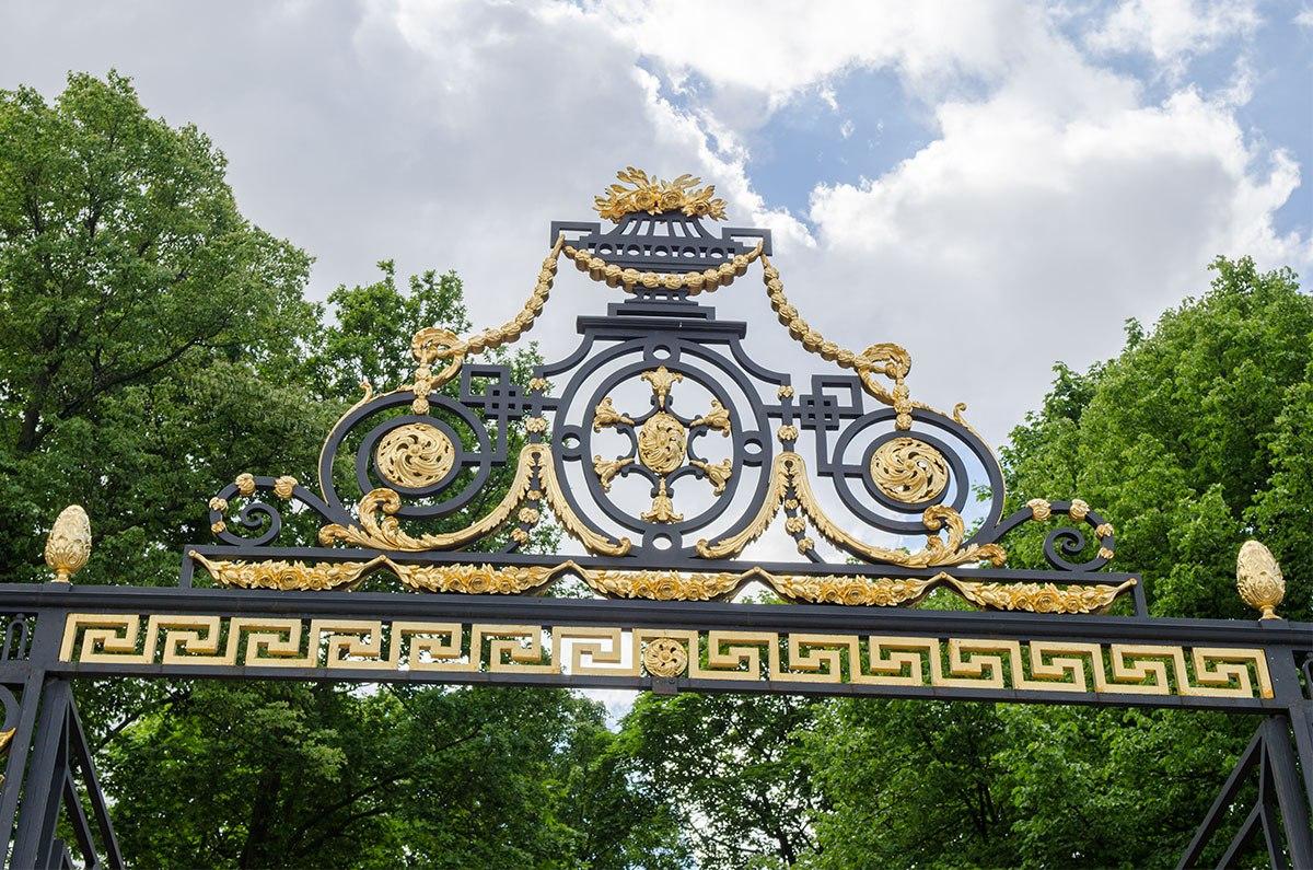 Решётка Летнего сада. Фото: architectstyle.livejournal.com