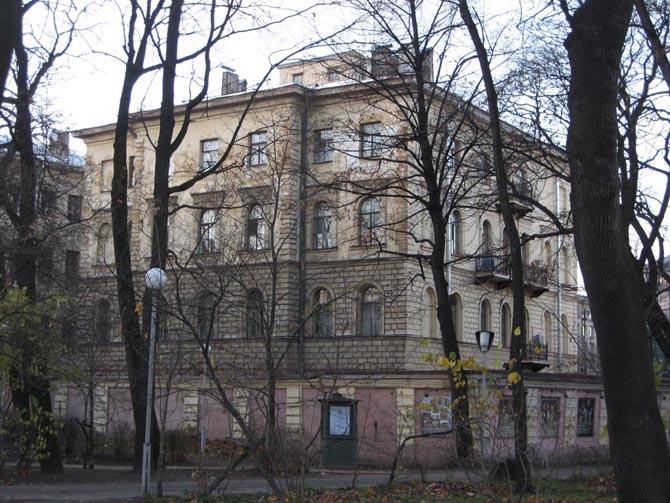 Дом Тарасовых, набережная реки Фонтанки, 116. Фото: citywalls.ru