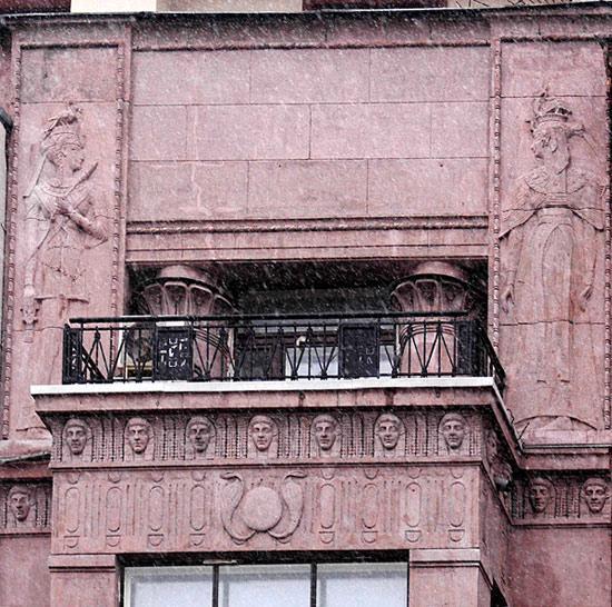 Доходный дом Л. И. Нежинской. Фото: citywalls.ru
