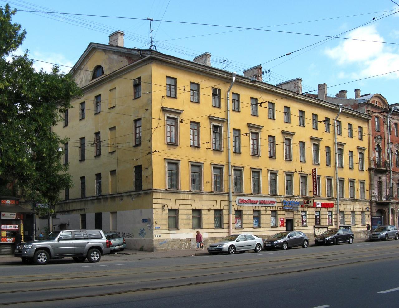 Комплекс жилых домов и бани Тарасовых, 1-я Красноармейская ул., 7-9. Фото: citywalls.ru
