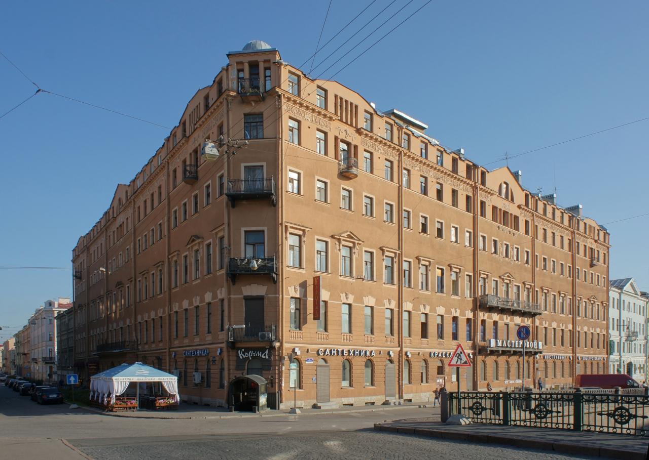 Доходный дом И. Д. Зверкова. Фото: citywalls.ru