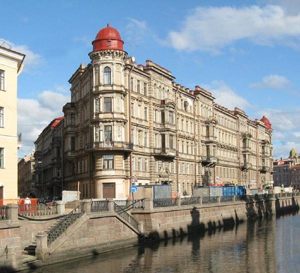 Доходный дом Ратькова-Рожнова. Фото: citywalls.ru
