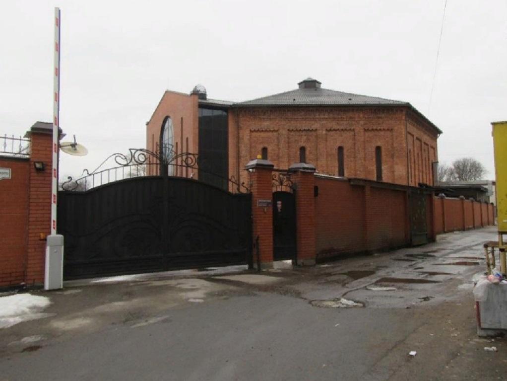 Газгольдер завода Сан-Галли (Санкт-Петербург). Фото: Konstantin1556