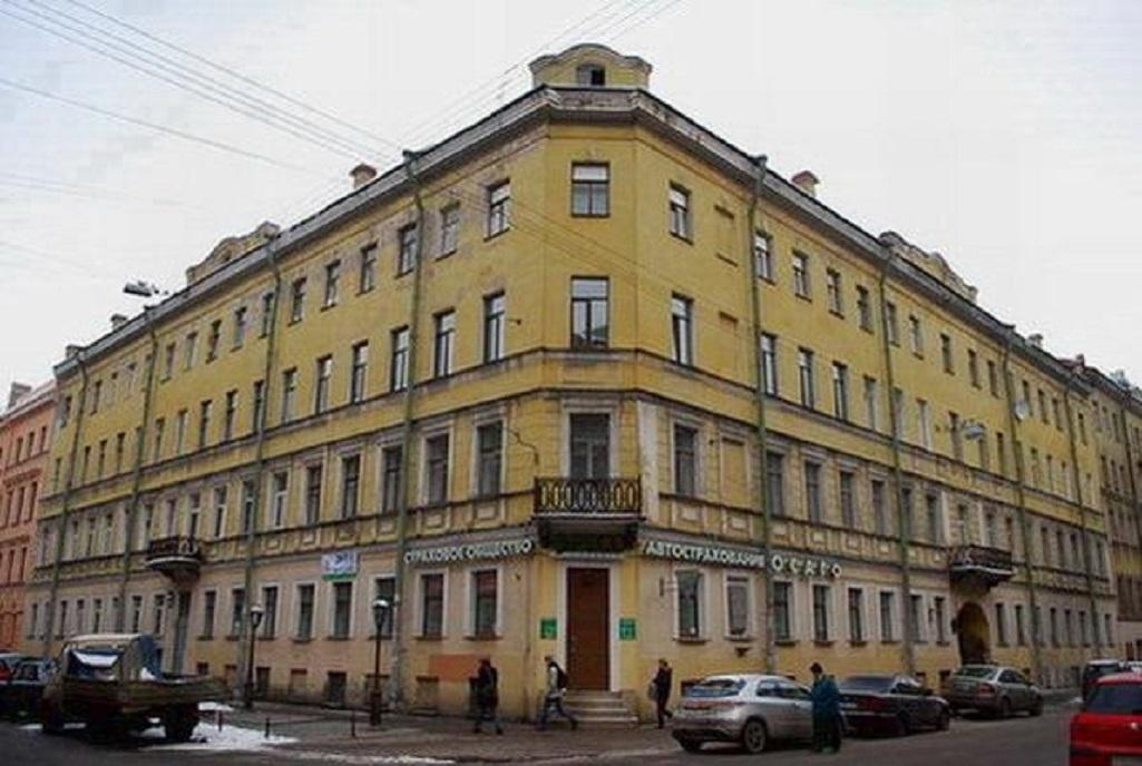 Доходный дом И. М. Алонкина. Фото: citywalls.ru