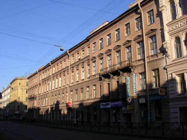Доходный дом А. Х. Пеля. Фото:  С. Васильев citywalls.ru