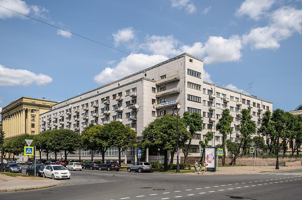 Дом Политкаторжан в Санкт-Петербурге. Фото: Florstein (WikiPhotoSpace)