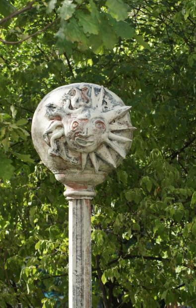 Скульптура в Измайловском саду.. Фото: citywalls.ru