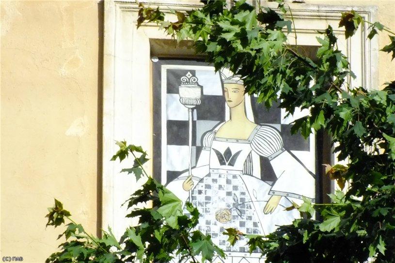 Шахматный дворик. Фото: pantv Источник: pantv.livejournal.com