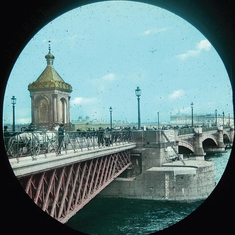 Часовня на Николаевском мосту. Фото: mostotrest-spb.ru