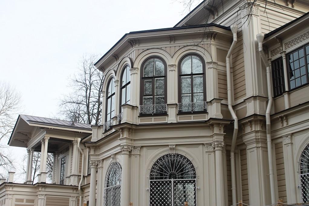 Дача Громова, завершение реставрации. Фото: gov.spb.ru