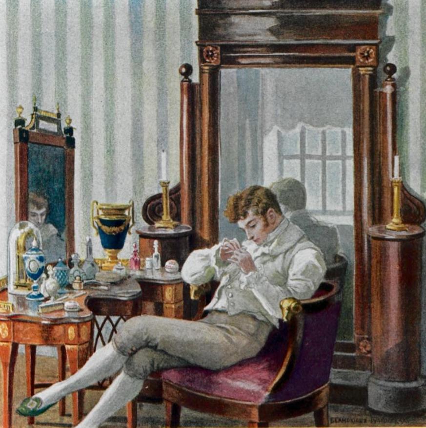 Евгений Онегин. Илл. Елены Самокиш-Судковской. Фото: Wikimedia Commons