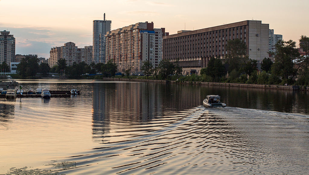 Галерная гавань Гребного порта. Фото: Chernokrylova