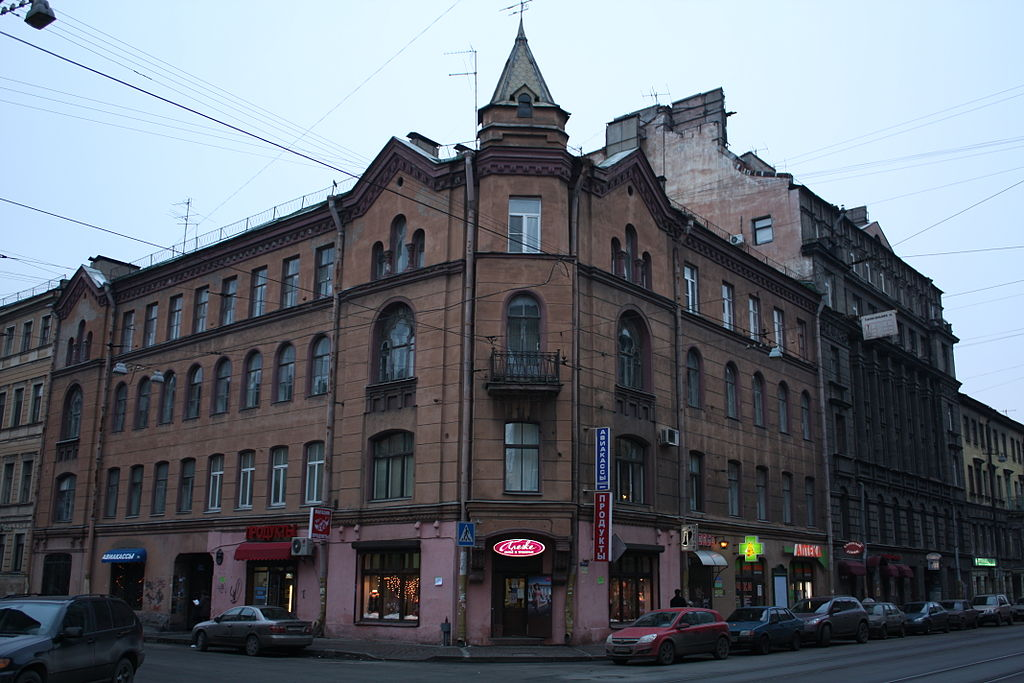 Колокольная улица в Санкт-Петербурге. Фото: Usama (Wikimedia Commons)
