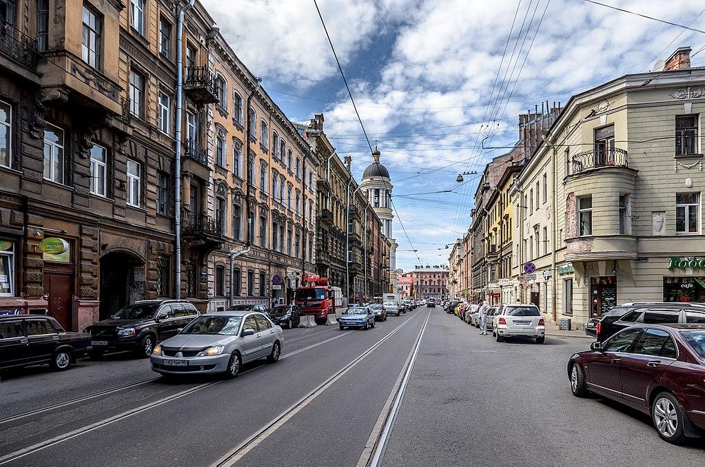 Колокольная улица в Санкт-Петербурге. Фото: Florstein (WikiPhotoSpace)