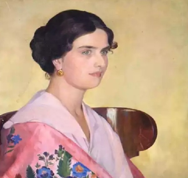 Борис Михайлович Кустодиев. Портрет. Источник: Русский музей