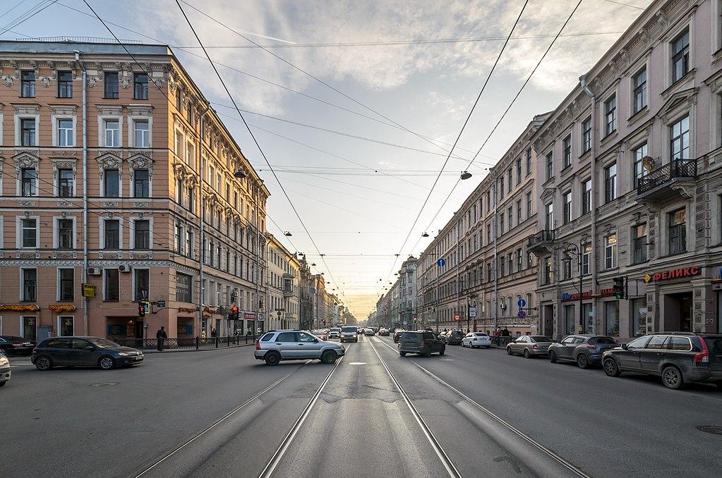 Литейный проспект. Фото: Florstein (WikiPhotoSpace)