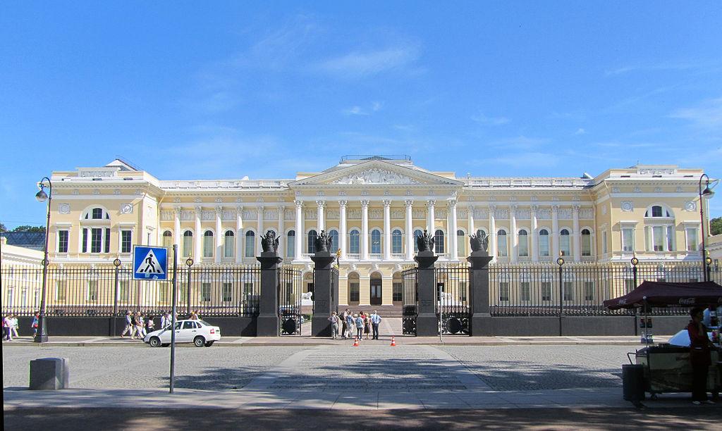 Михайловский дворец (Русский музей). Фото: MarisaLR (Wikimedia Commons)
