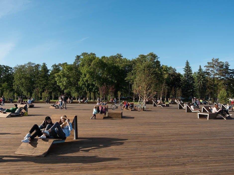 Прогулочная зона на Крестовском острове. Фото: the-village.ru