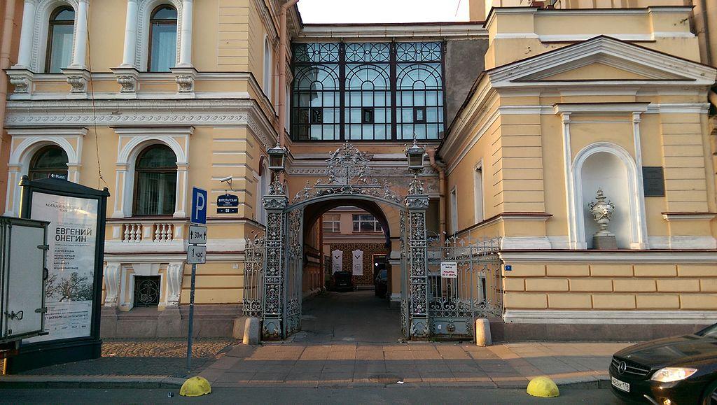 Ограда: улица Фурштатская, 58. Фото: Anton.n.cherepanov (Wikimedia Commons)