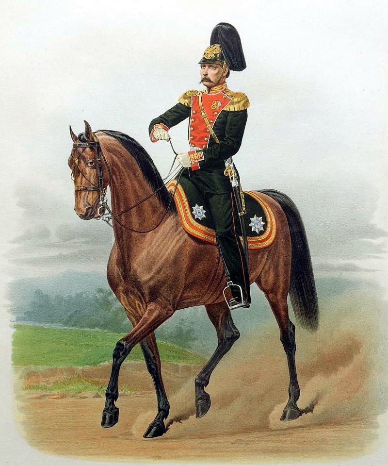 Пиратский К. К. Штаб-Офицер Лейб-гвардии Преображенского полка. 1865 г. (Wikimedia Commons)