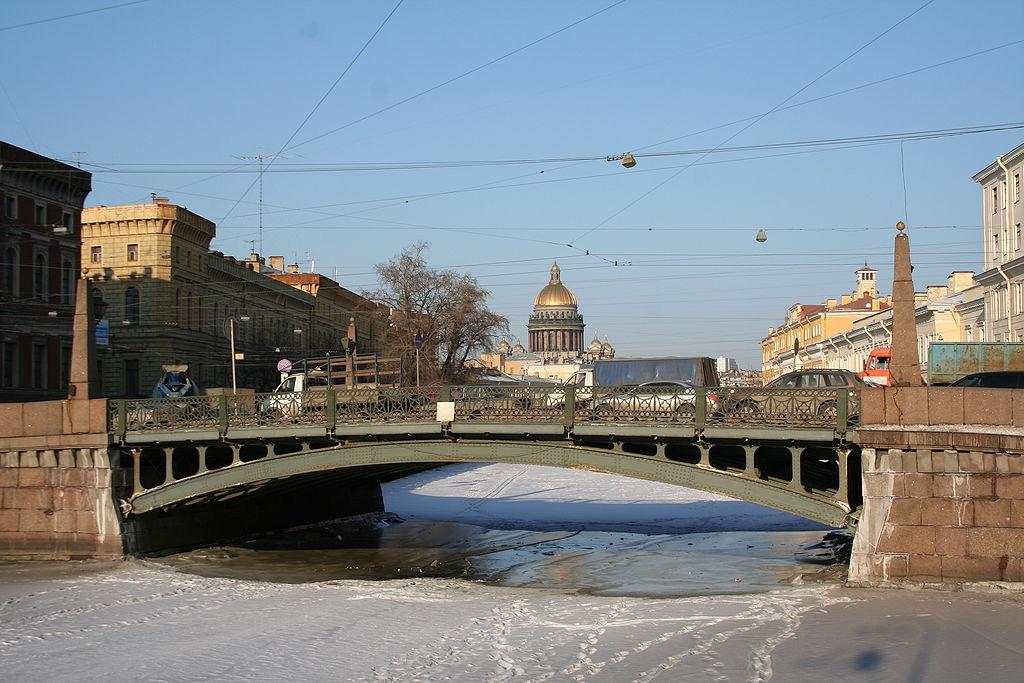 Поцелуев мост. Фото: В. В. Медейко (Wikimedia Commons)