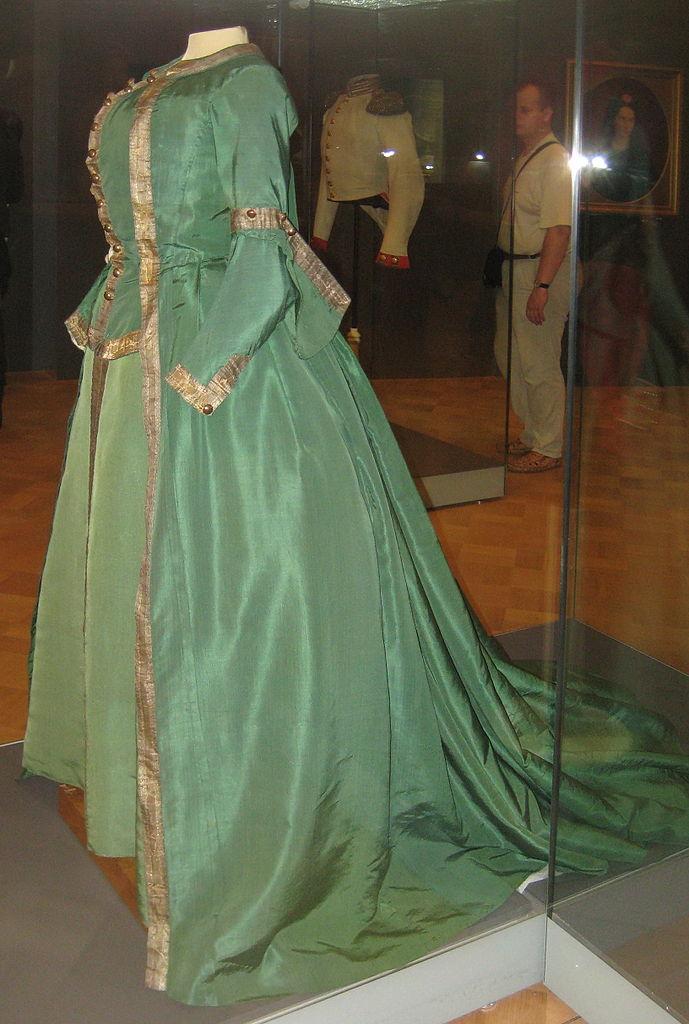 Преображенское платье Екатерины II (1763). Фото: Shakko (Wikimedia Commons)