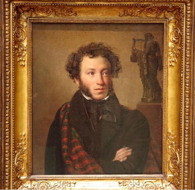 Портрет А. С. Пушкина. Орест Адамович Кипренский, 1827 г.