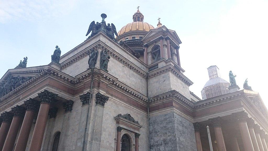 Исаакиевский собор. Фото: Владимир Кочадыков