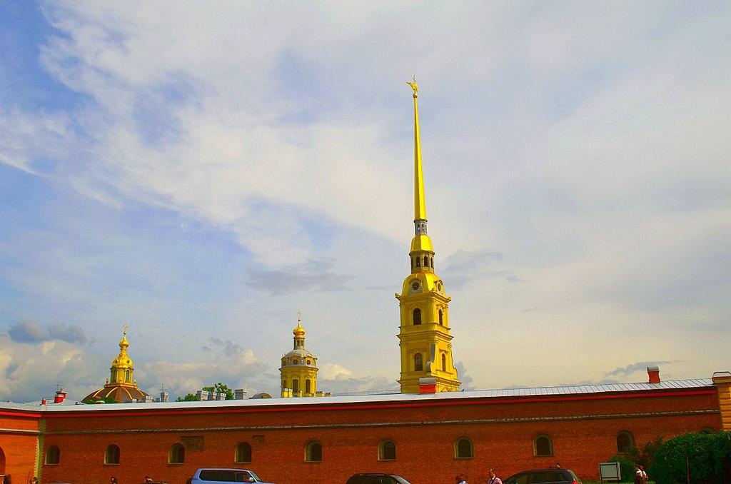 Петропавловская крепость: остров Заячий, Петроградский район, Санкт-Петербург. Фото: GAlexandrova