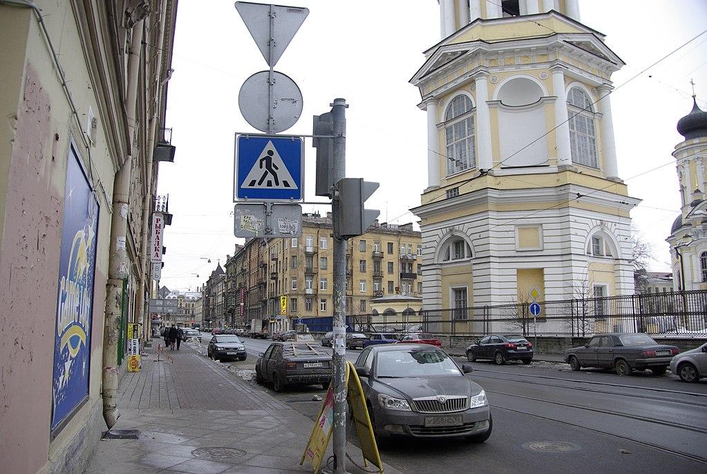 Колокольная улица в Санкт-Петербурге. Фото: Svetlov Artem (Wikimedia Commons)