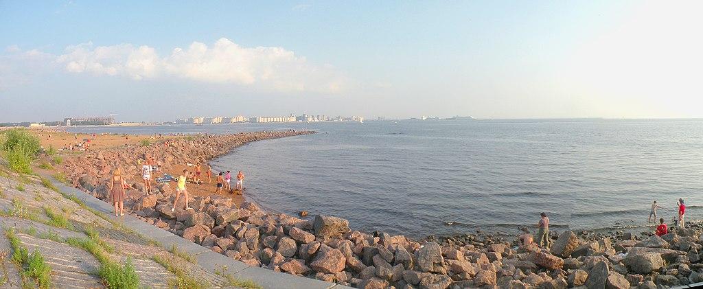 Новый пляж в Приморском районе. Фото: Vitold Muratov