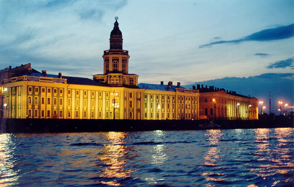 Санкт-Петербург, Университетская набережная. Фото: Michael Hoffmann (Hamlet53)