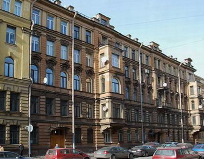 Доходный дом купца А. Ф. Евментьева, Моховая, 23. Фото: citywalls.ru