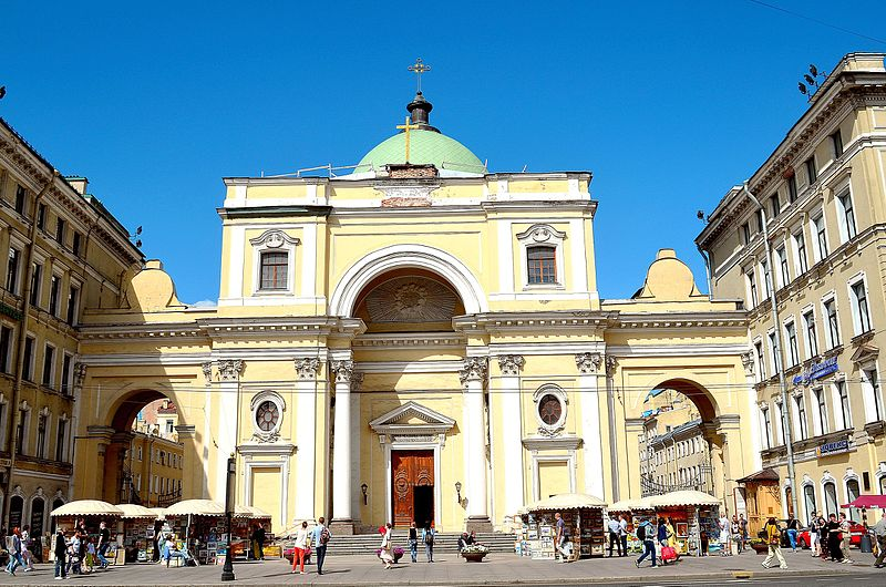 Храм римско-католический церкви Святой Екатерины. Автор: GAlexandrova, Wikimedia Commons