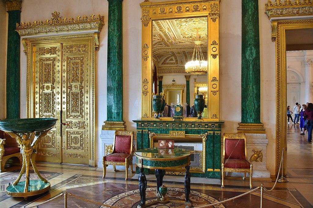 Малахитовая гостиная. Фото: Richard Mortel from Riyadh, Saudi Arabia