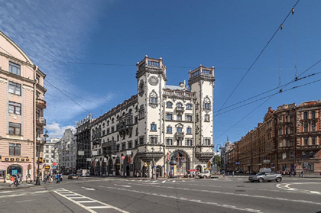 """Дом с башнями"". Фото: Florstein (WikiPhotoSpace)"