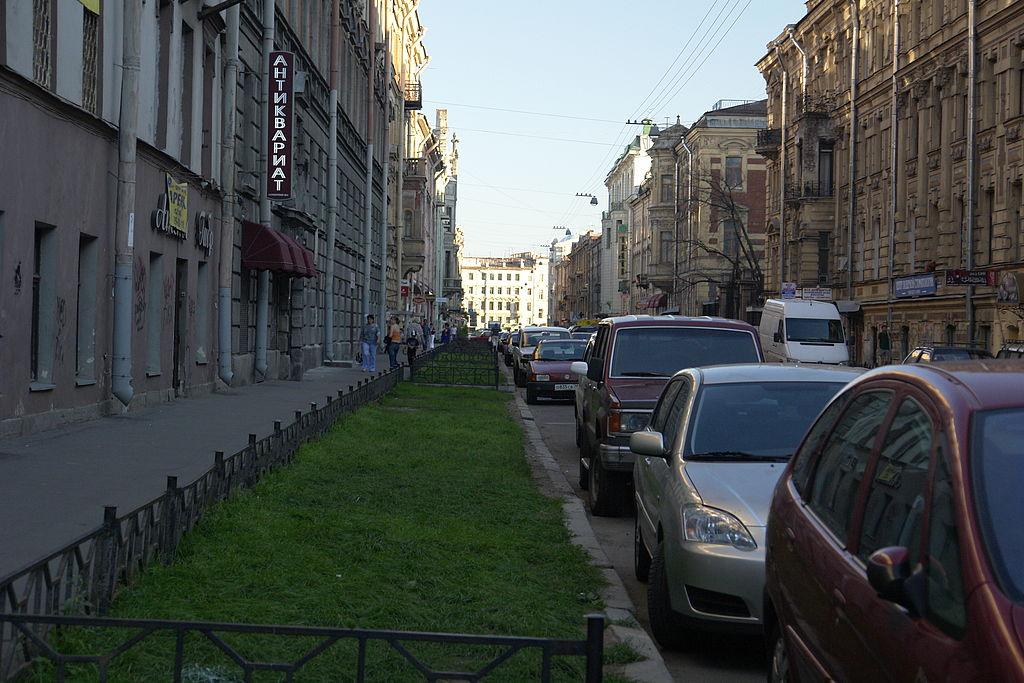 Моховая улица. Фото: George Shuklin (Wikimedia Commons)