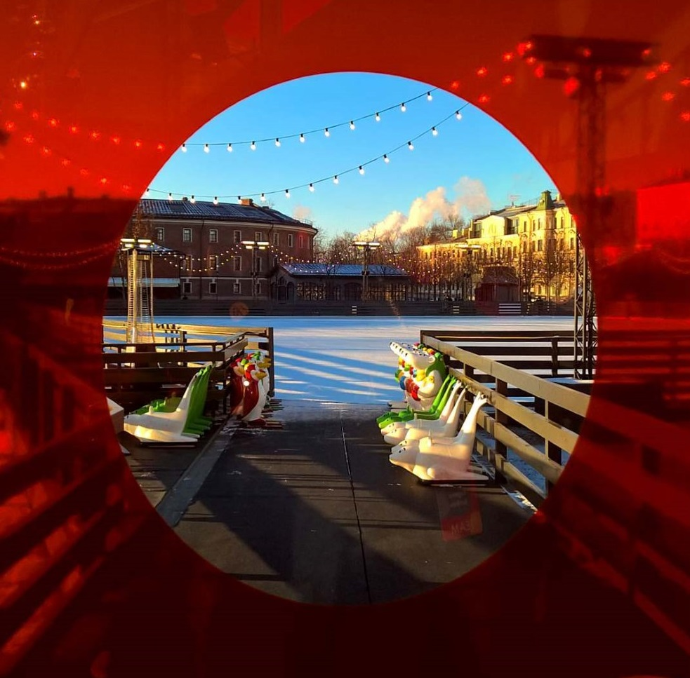 Зима в Новой Голландии.  Фото: newhollandsp.com