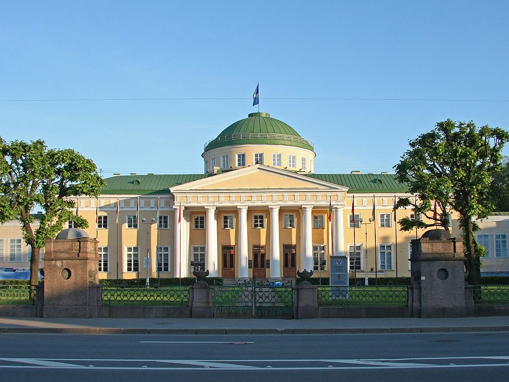 Таврический дворец. Фото: VekaSpb (Wikimedia Commons)