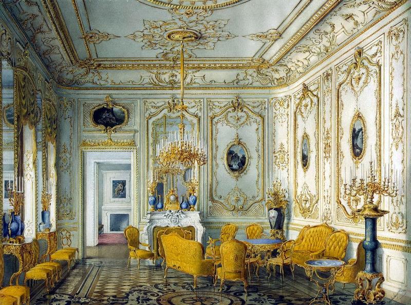 Дом Строгановых. Желтая гостиная Фото: Mary citywalls.ru
