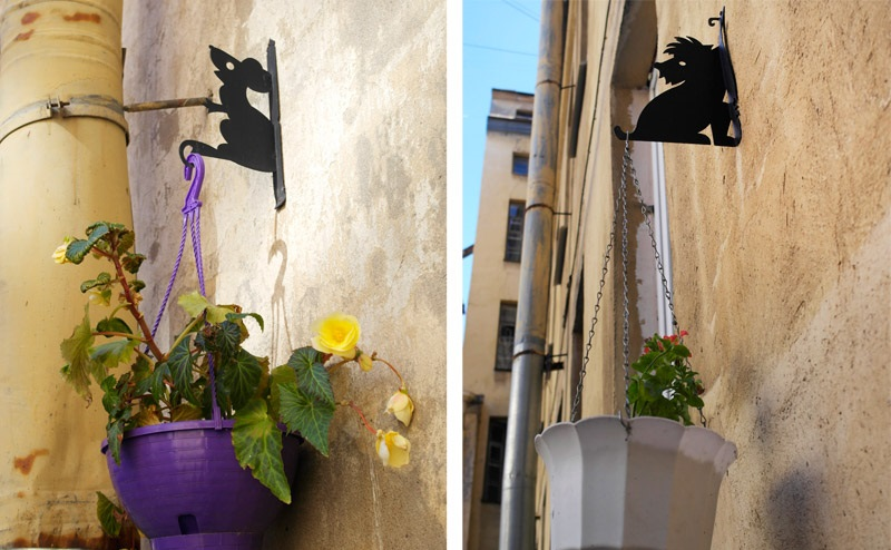 Бабушкин дворик с чёрными кошками. Фото: letsgo-blog.ru