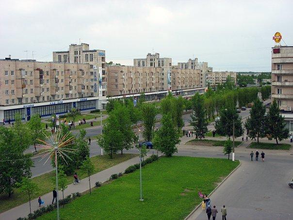Город Кириши в Ленинградской области