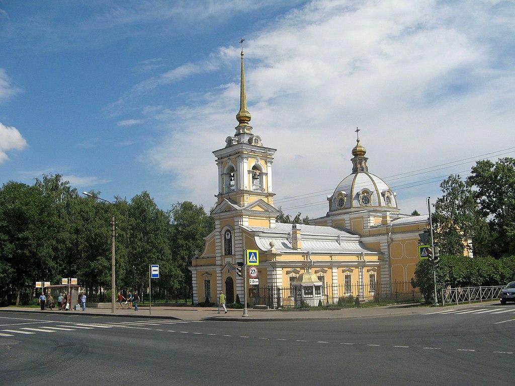 Троицкая церковь в Красном Селе. Фото: Екатерина Борисова