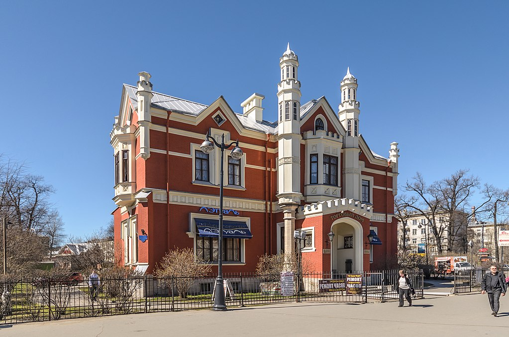 1. Дача Салтыковой. Фото: Florstein (WikiPhotoSpace)