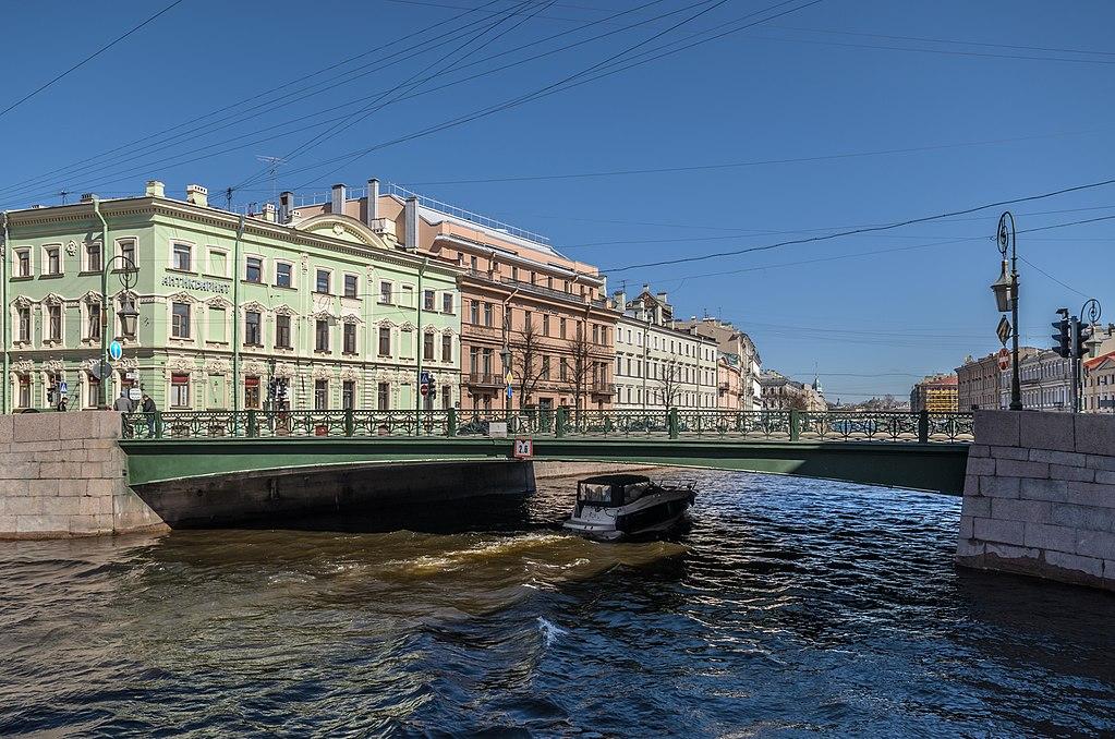 Фонарный мост в Санкт-Петербурге. Фото: Alex 'Florstein'