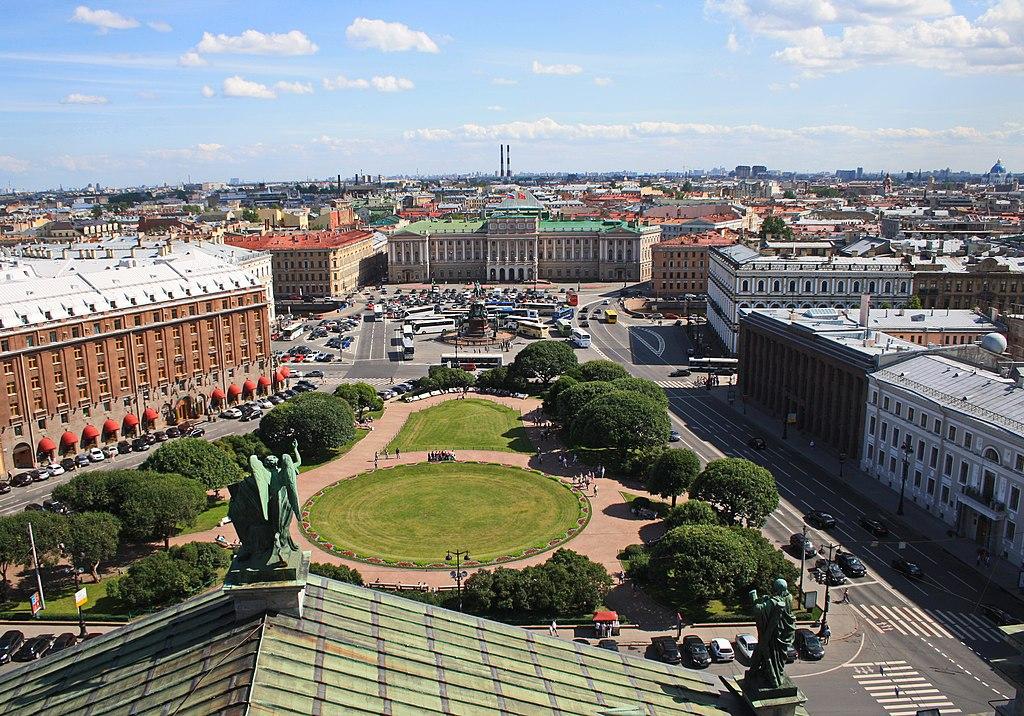 Исаакиевская площадь в Санкт-Петербурге.Фото: Kora27