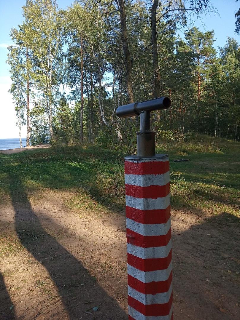 Форт 'Красная Горка'. Новый арт-объект, импровизирующий подзорную трубу. Фото: vk.com/fort_f