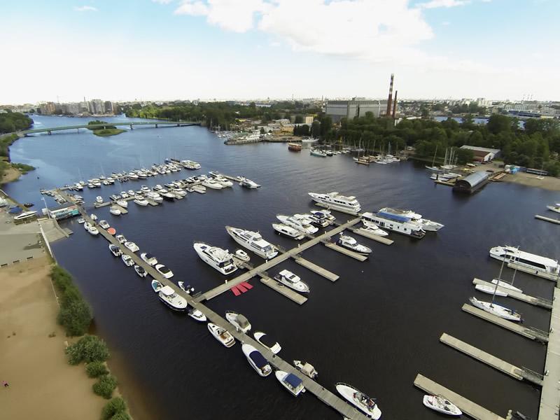 """Яхт-клуб """"Крестовский"""", Фото: ru rusyachting.ru"""